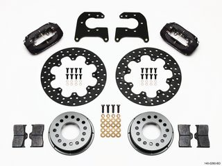 FORGED DYNALITE BRAKE KIT DRAG REAR MOPAR/DANA Billet