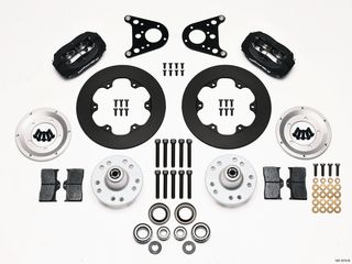 FORGED DYNALITE BRAKE KIT DRAG FRONT A/M STRUT MD SOLID ROTOR