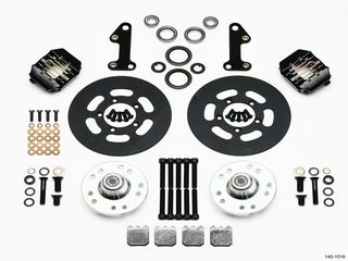 DYNAPRO DUST BOOT DRAG FRONT BRAKE KIT CAMARO 67-69 DRUM SPINDLE