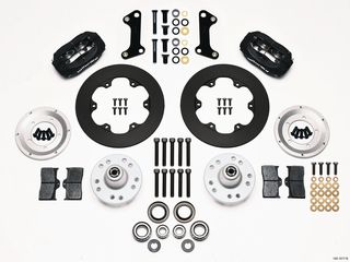 FORGED DYNALITE BRAKE KIT DRAG FRONT CAMARO 67-72 MD DRUM