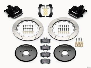 COMBINATION PARKING BRAKE CALIPER KIT REAR  S2000 12.90x.81 ROTOR