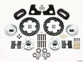 FORGED DYNALITE BRAKE KIT DRAG FRONT GM G BODY 80-87 MD FORGED