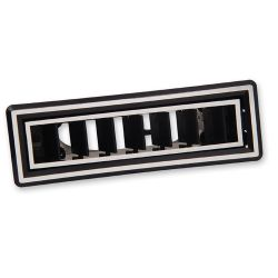 Chrome In-Dash Rectangular A/C Vent