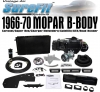 1966-67 Coronet/Charger Complete Kit (factory air car)