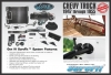 1947-49 Chevy Complete Kit with Deluxe 6-Cyl Bracket