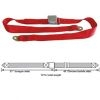 Juliano's Chrome Lift Latch Lap Belts