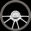 Billet Specialties Edge Steering Wheel